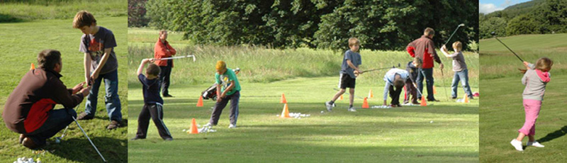 Junior Golf Coaching at Taymouth Castle Golf Club, Kenmore, Perthshire, Scotland